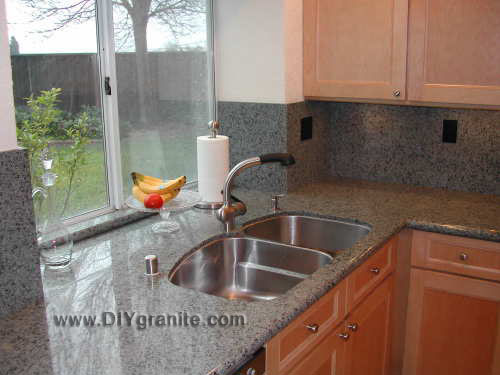 Do it yourself granite countertops showroom granite countertops sea teal kitchen 1 solutioingenieria Images